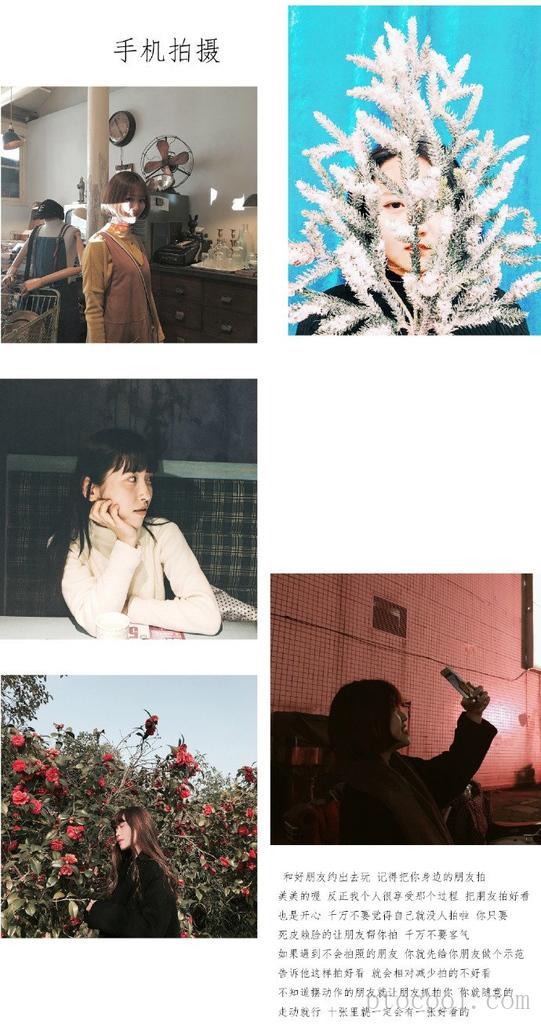 手机摄影技巧,如何留白照片和排版...