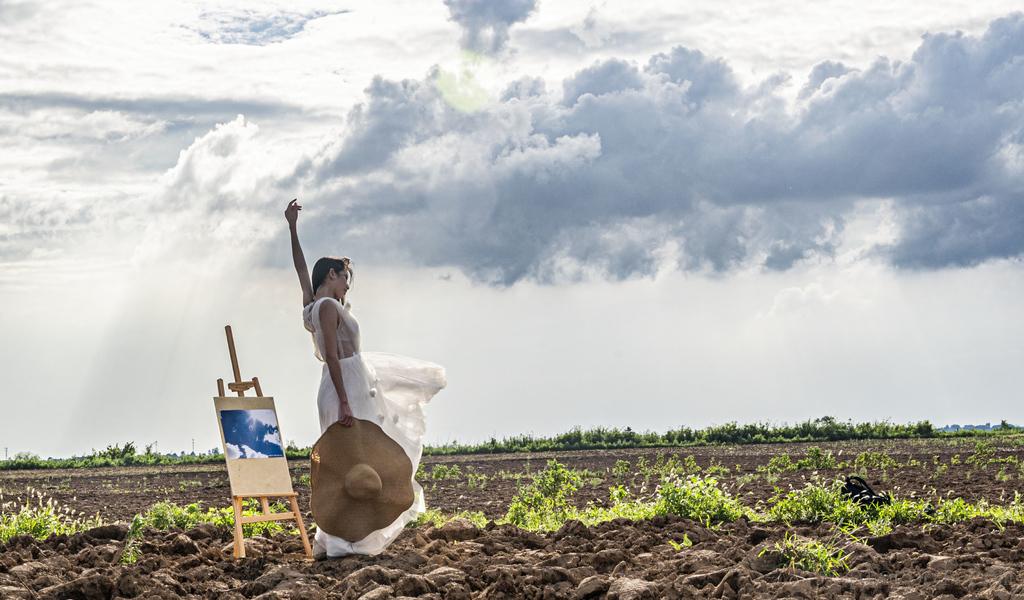 美女与土地