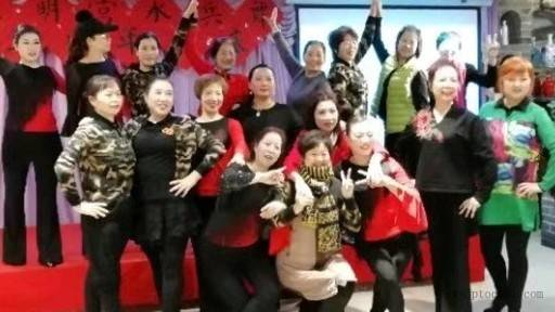 南大明宫水兵舞团三年庆花絮
