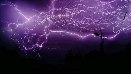 来自太白山的电闪雷鸣!