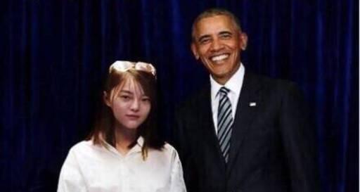 """美国下岗总统在中国""""再就业"""""""