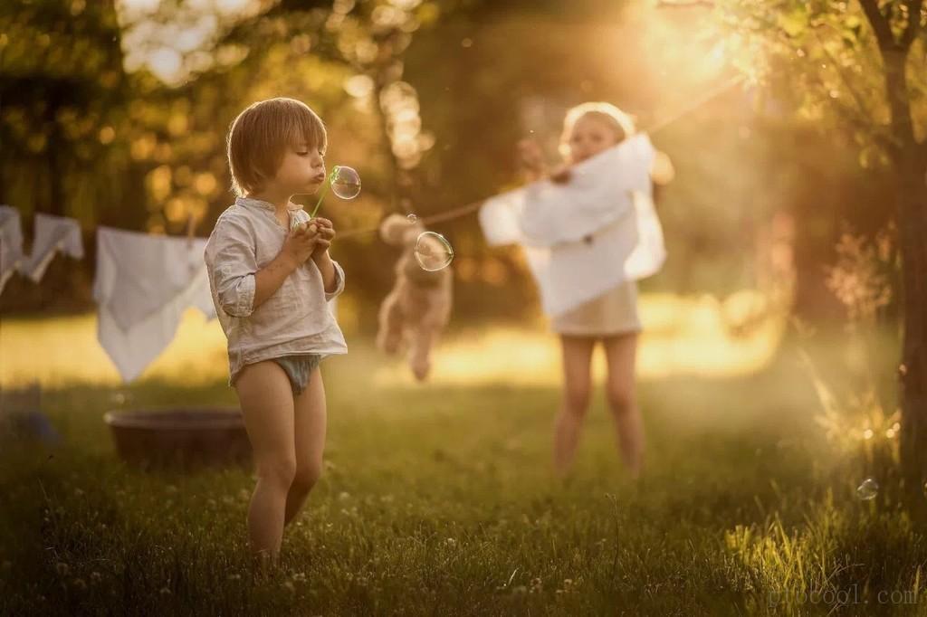 波兰摄影师和她梦幻的童话世界(夏)