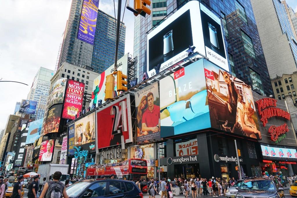 新冠之前的纽约. 1