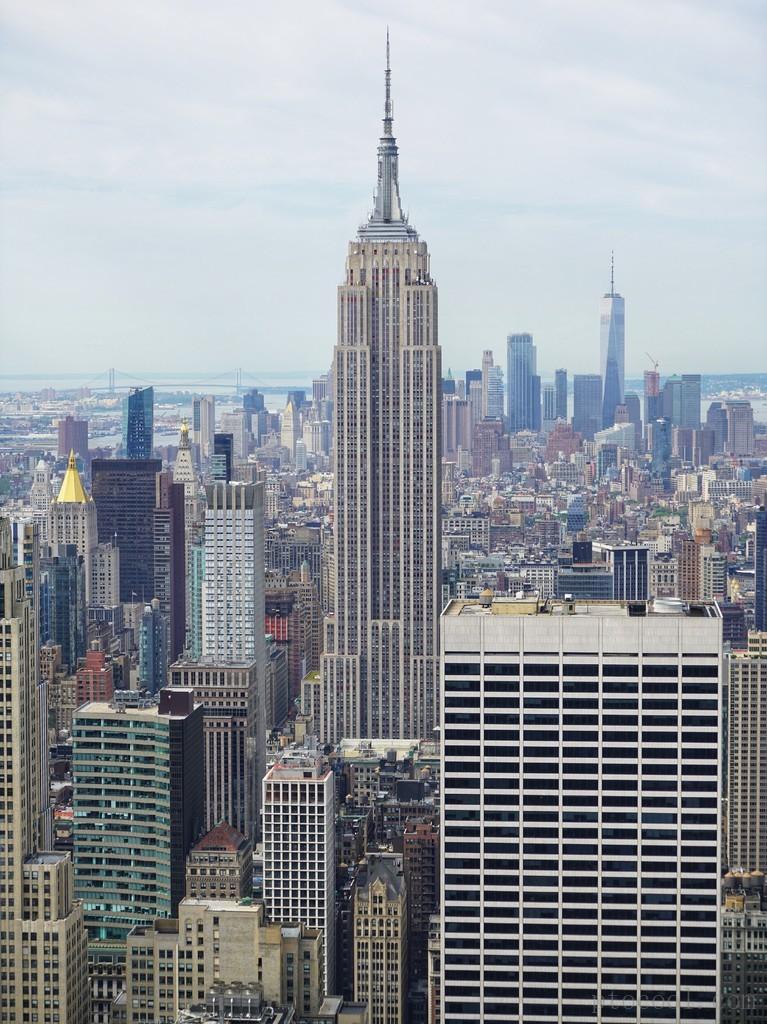 新冠之前的纽约. 2