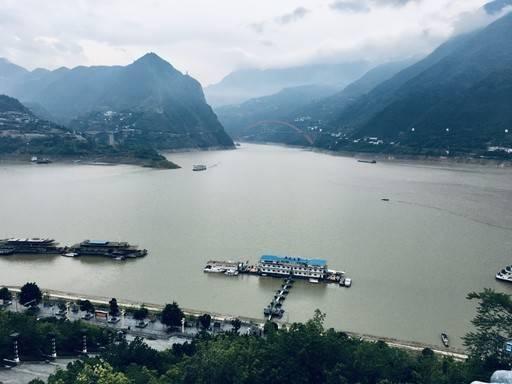 长江小三峡风光摄影