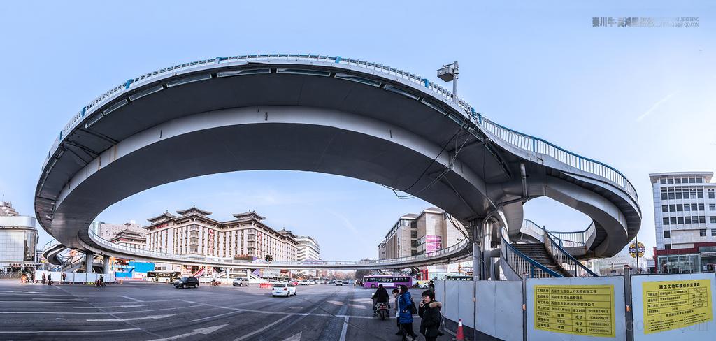 别了   五路环形桥