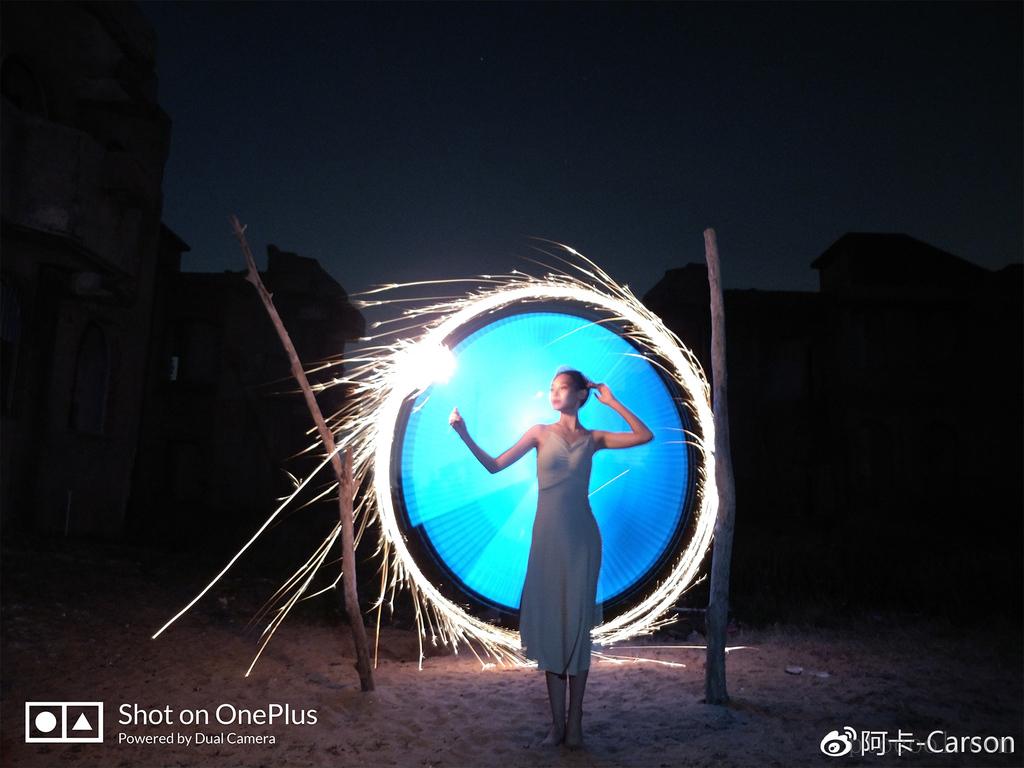 手机竟能拍出如此炫酷的光绘摄影,真的意想不到!
